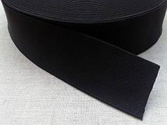 Черные текстильные резинки