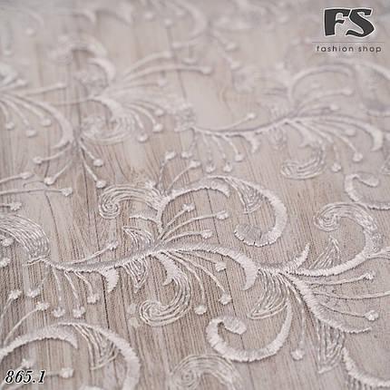 Свадебный белый платок Ариадна, фото 2