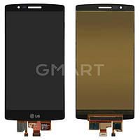 Оригинальный дисплей LG H950 G Flex 2 черный (LCD экран, тачскрин, стекло в сборе), Оригінальний дисплей LG H950 G Flex 2 чорний (LCD екран, тачскрін,