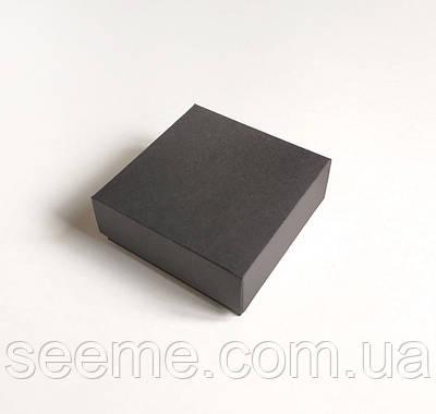 Коробка подарочная 85x85x35 мм, цвет черный