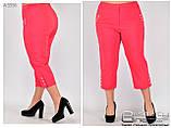 Женские брюки бенгалин (стрейч)  раз. 50.52.54.56.58.60, фото 2