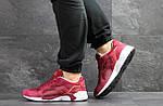 Мужские кроссовки Puma Trinomic (бордовые) , фото 4