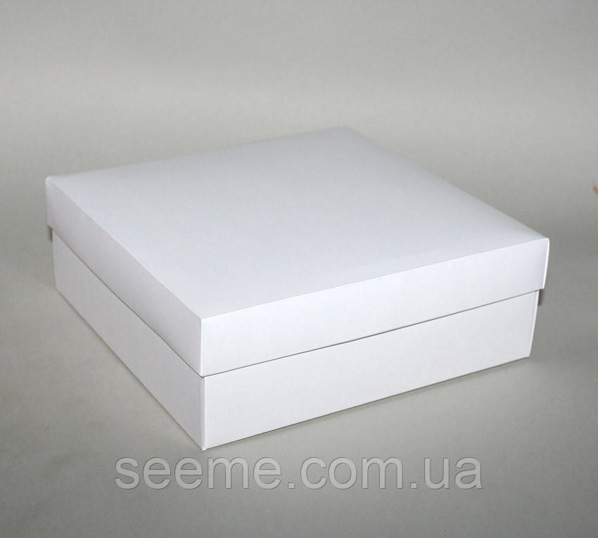 Коробка подарункова, 200х200х70 мм.