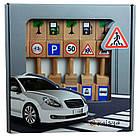 Игровой набор Деревянные дорожные знаки 11021, фото 3