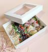 Коробка подарункова 200х150х50 мм з віконцем, фото 2