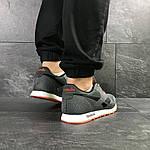 Мужские кроссовки Reebok (серо-черные с оранжевым), фото 3