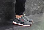 Мужские кроссовки Reebok (серо-черные с оранжевым), фото 5