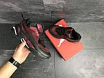 Мужские кроссовки Puma (бордовые) , фото 4