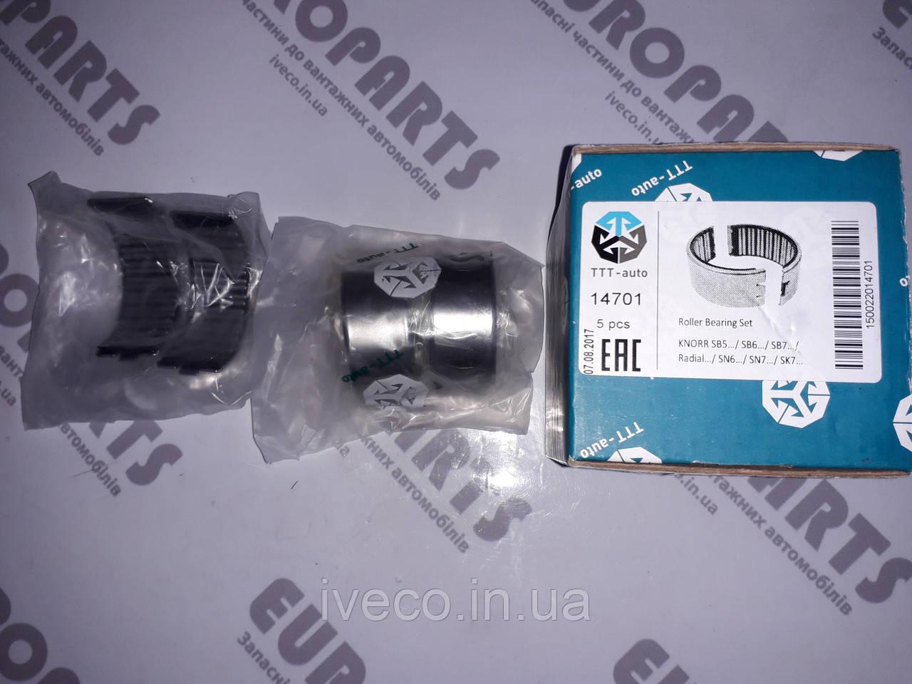 Ремкомплект суппорта KNORR SB5 SB6 SB7 SK7,SN6, RADIAL, подшипники (пр-во TTT-auto)  CKSK.14  14701   K0017