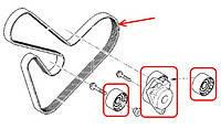 Ремни и ролики генератора