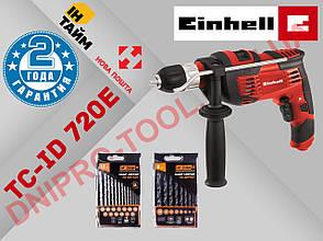 Дрель ударная электрическая Einhell TC-ID 720/1 E, фото 2