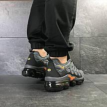 Мужские кроссовки Nike Air Vapormax Plus,текстиль,серые, фото 2
