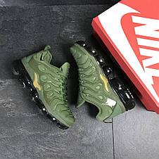 Мужские кроссовки Nike Air Vapormax Plus,текстиль,зеленые, фото 3
