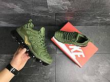 Мужские кроссовки Nike Air Vapormax Plus,текстиль,зеленые, фото 2