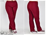 Женские брюки бенгалин (стрейч) раз. 50.52.54.56.58.60