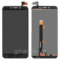 Original дисплей Asus Zenfone 3 Max ZC553KL черный (LCD экран, тачскрин, стекло в сборе), Original дисплей Asus Zenfone 3 Max ZC553KL чорний (LCD