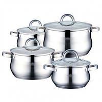 Набор кастрюль (Набор посуды) 8 предметов PETERHOF PH-15760