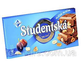 "Шоколад Studentska ""МОЛОЧНА"" з арахісом та желе,180 г"