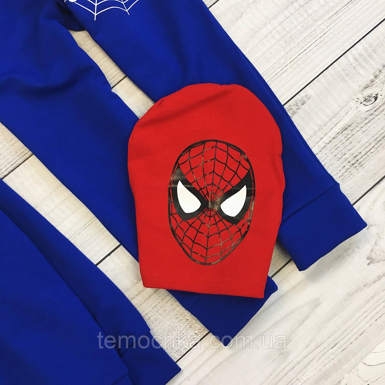 """Спортивный костюм """"spiderman"""" с шапочкой"""