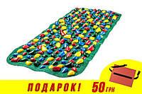 Массажный (ортопедический) коврик дорожка для детей с камнями Onhillsport 150*40см (MS-1214)