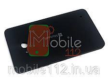 Задняя крышка Microsoft 640 Lumia (RM-1072, RM-1077) черная