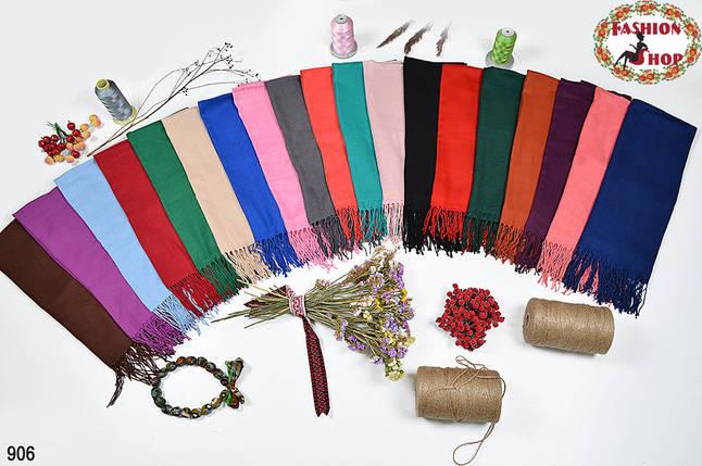 Стильний шарф із пашміни, фото 2