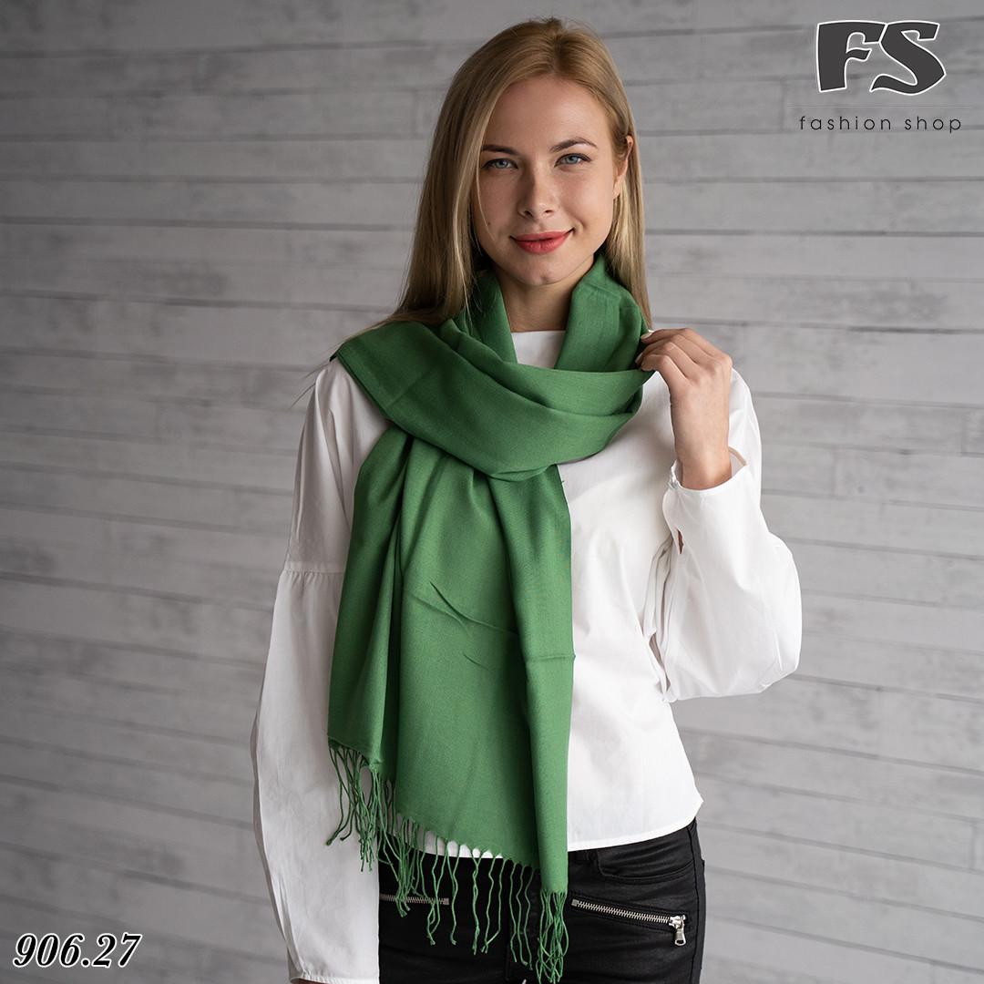 Стильний шарф із пашміни