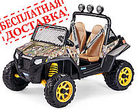 Детский электромобиль, внедорожник Polaris RZR 900 Camouflage, дитячий електромобіль Поларіс