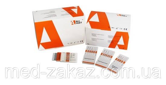 Швидкий тест на 6 наркотиків (OPI, ТНС, AMP, МЕT, BAR, BZO) DOA-164