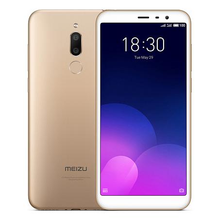 Смартфон Meizu M6T 3/32GB Gold