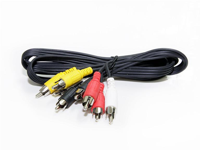 Аудио видео шнур 4RCA - 4RCA 2.4m