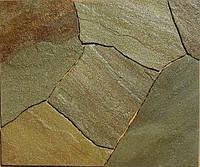 Песчаник жёлтый коричневый H-20 мм, фото 1