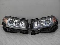 Фара ліва права чорна Renault Megane 2 II Рено Меган 2