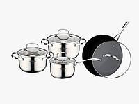 Набор посуды (Набор кастрюль) 8 предметов Peterhof PH-15274