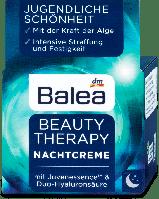 Регенерирующий ночной крем для восстановления кожи лица 50 мл Balea Beauty
