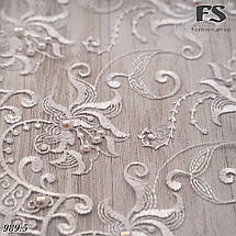 Свадебный шарф Камила (белый жемчуг), фото 3