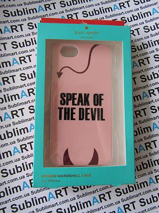 Дизайнерский чехол ручной работы для Iphone 6 devil , фото 2