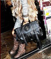 Стильная сумка-портфель с черепом, фото 2