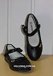 Туфли на девочку Yalike арт 5-19  черные р 27-32, фото 4