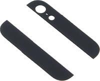 Стекло корпуса комплект (верхнее+нижнее) для Apple iPhone 5G Black