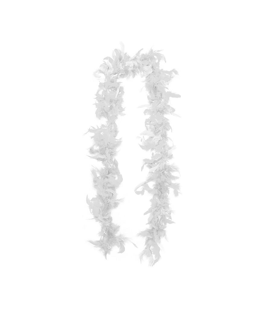 Боа из перьев белое 40 г