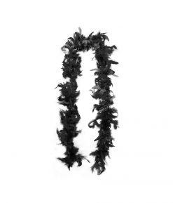 Боа из перьев черное 40 г