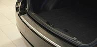 Накладка на задний бампер с загибом для Chevrolet Cruze, Шевроле Круз