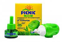 Набор PICNIC Family Фумигатор и жидкость от комаров 45 ночей
