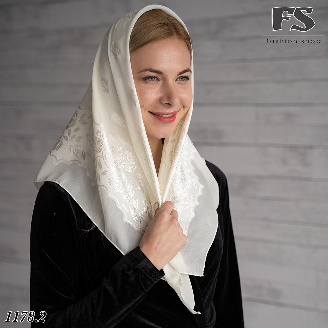 Маленький свадебный платок Ангел (айвори)
