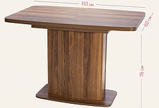Стол Модерн (раскладной) (ассортимент цветов), фото 2