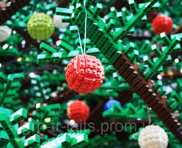 Необычная новогодняя елка из Лего