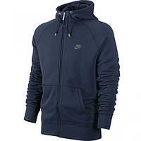 Спортивная кофта Nike темно-синяя