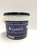 Акриловая краска с эффектом мерцающих кристаллов. Krystalia component A, база. (2.5 л) Spiver.