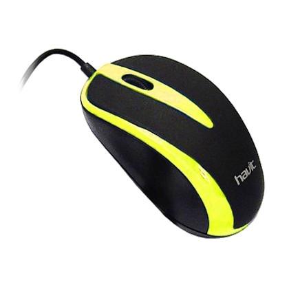 Мышь проводная Havit HV-MS675  yellow